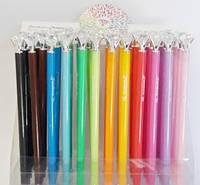 Ручка гелевая цветная Rainbow Diamond 0,38мм, цвет корпуса соответствует цвету чернил, ассорти