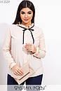 Женская рубашка в горошек в больших размерах из софта 1ba502, фото 2