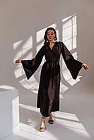 Платье-кимоно на запах (до 50 размера)