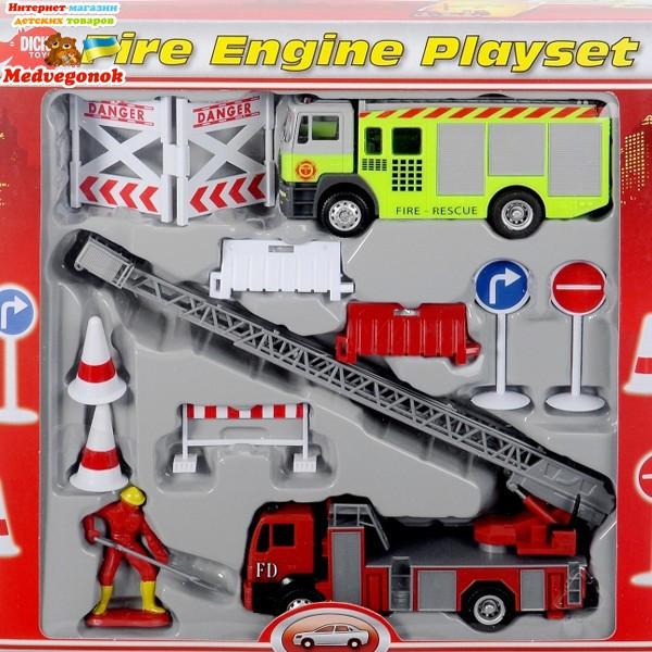 Детский игровой набор Пожарная служба Dickie 3315396 (дитячий ігровий набір Пожежна охорона)