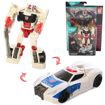 """Трансформер """"Поліція"""", робот+машина, A105, фото 2"""