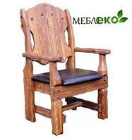Деревянное кресло, Кресло Добряк Мягкое