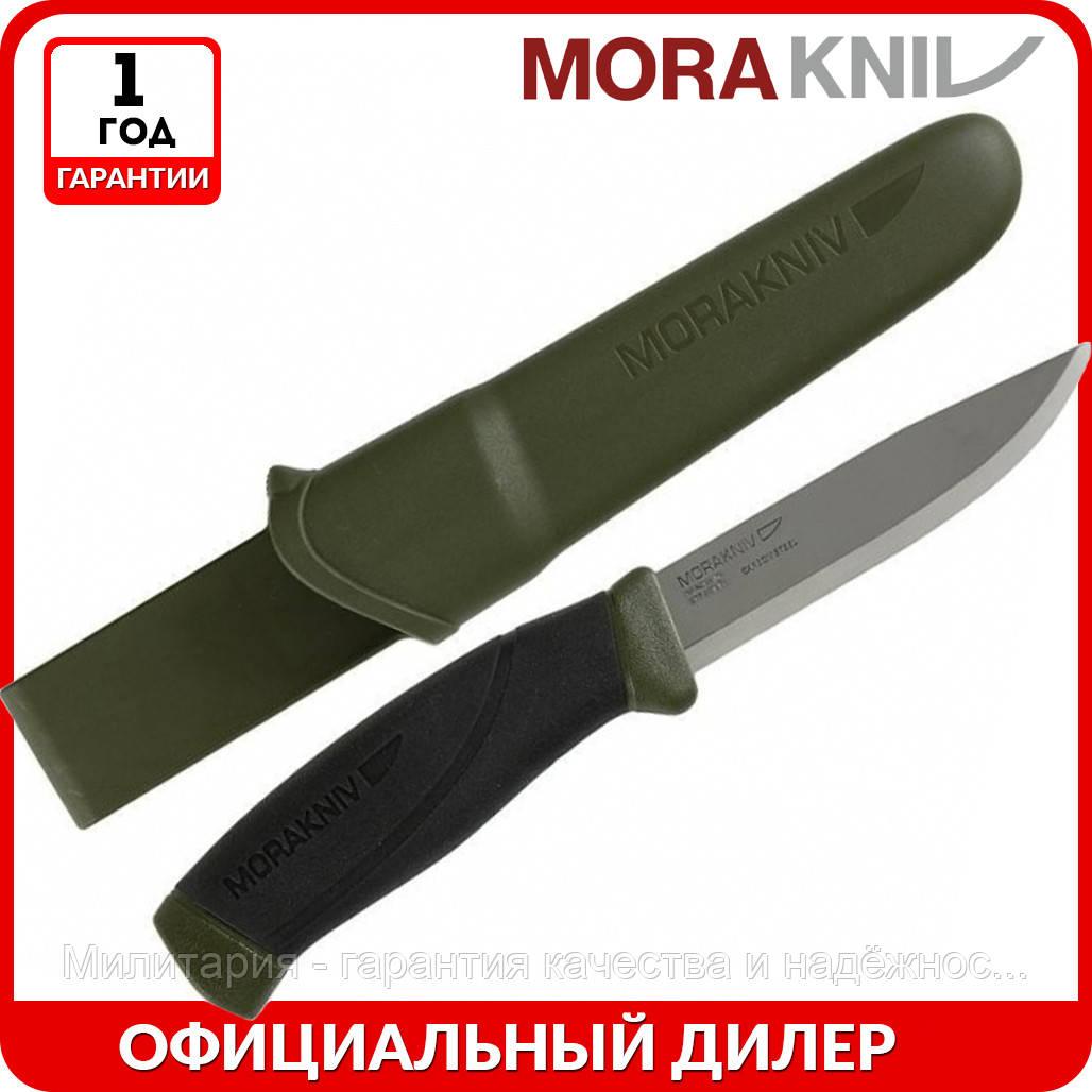 Нож Morakniv Companion MG | туристический нож mora 11827 | мора Companion Stainless Steel | Made in Sweden
