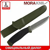 Нож Morakniv Companion MG   туристический нож mora 11827   мора Companion Stainless Steel   Made in Sweden