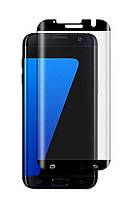Защитное стекло 5D King Kong Full Glue для Galaxy S7 Edge, Black