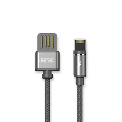 USB кабель магнитый Remax, OR, Silver, RC-095i, фото 2