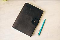 Кожаный блокнот А5 ручной работы | Шкіряний блокнот А5