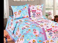 Детское полуторное постельное белье '' Лолы ''
