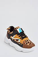 Леопардовые женские замшевые кроссовки. Размеры 36, 37, 38, 39, 40, 41