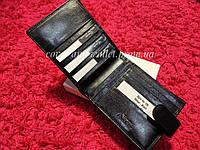 Солидный кожаный мужской портмоне Eremette