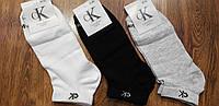 """Мужские стрейчевые носки в стиле """"Calvin Klein W"""" Турция 41-45 короткие"""