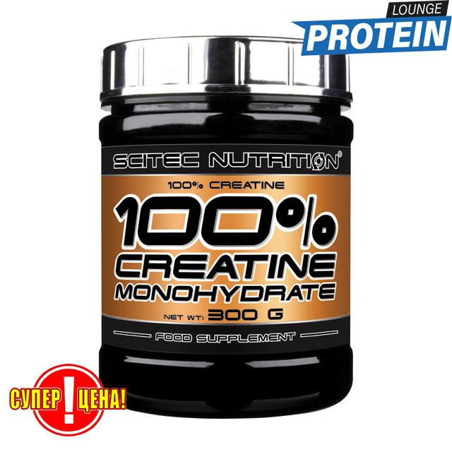 Креатин моногидрат без вкуса Scitec Nutrition 100% Creatine Monohydrate 300 g