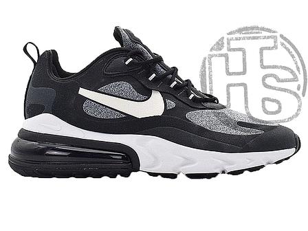 Мужские кроссовки Nike Air Max 270 React Optical Black/Vast Grey AO4971-001, фото 2