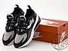 Мужские кроссовки Nike Air Max 270 React Optical Black/Vast Grey AO4971-001, фото 3