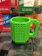 Кружка Lego брендовая 350мл Green, фото 1