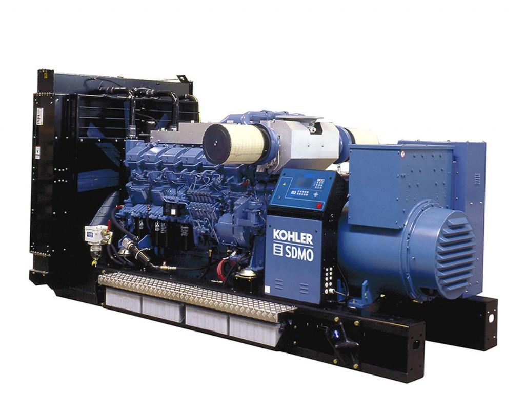 Трехфазный дизельный генератор SDMO T1540 (1232 кВт)