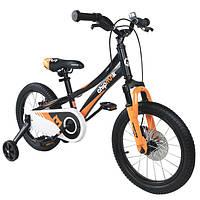 """Велосипед детский RoyalBaby Chipmunk EXPLORER 16"""", OFFICIAL UA, черный"""
