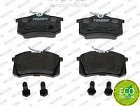 Ferodo FE FDB1083 Гальмівні колодки задні VW Golf Passat, Skoda Octavia Superb