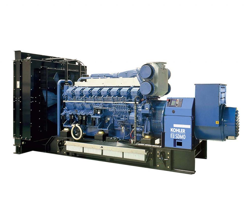 Трехфазный дизельный генератор SDMO T1900 (1520 кВт)
