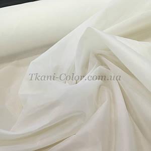 Тканина для підкладки нейлон молочний 170Т