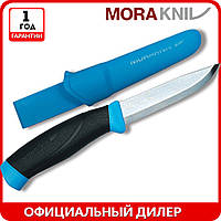 Нож Morakniv Companion MG | туристический нож mora 12159 | мора Companion Stainless Steel | Made in Sweden