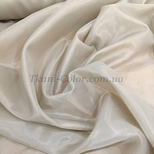 Тканина для підкладки нейлон світло-бежевий 170Т
