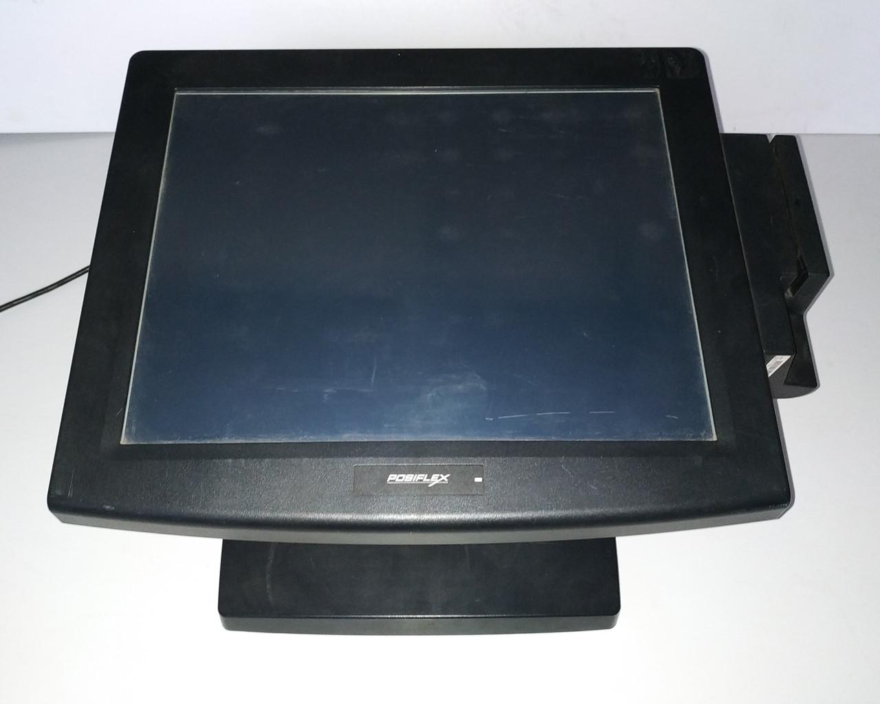 POS монитор Posiflex TM-8115G-B с ридером магнитных карт! б/у
