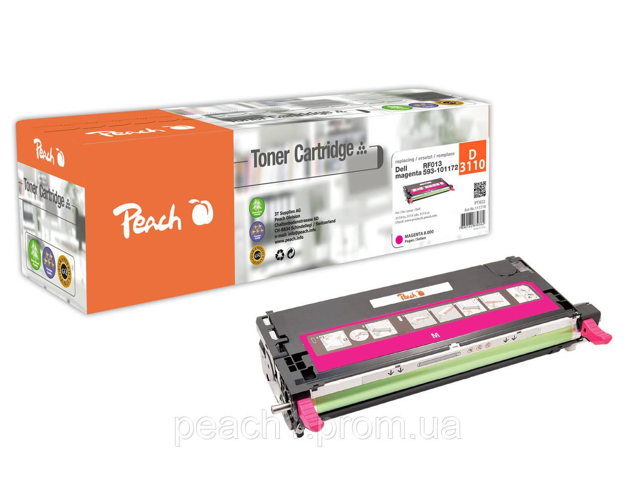 Лазерный картридж пурпурный (magenta) Dell RF013