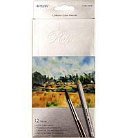 """Акварельные карандаши 12 цв. MARCO """"Raffine"""" 7120-12"""