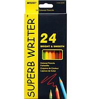 "Набор цветных карандашей 24 цв. MARCO ""Superb writer"" 4100-24"