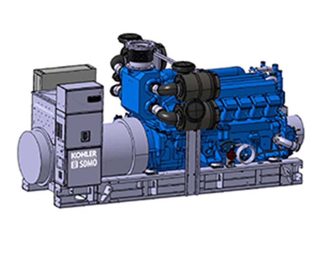 Трехфазный дизельный генератор SDMO T2500 (2000 кВт)