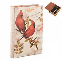Книга сейф Птицы 26 см