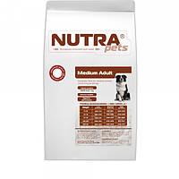 Cухой корм для взрослых собак средних пород NUTRA pets Regular Medium Adult 15 кг