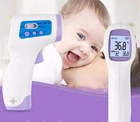 Бесконтактный инфракрасный термометр для измерения температуры тела Non Contact, фото 1