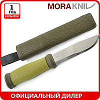 Нож Morakniv Outdoor 2000 | туристический нож mora 10629 | мора Outdoor Stainless Steel | Made in Sweden