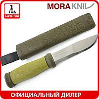Нож Morakniv Outdoor 2000 | туристический нож mora 10629 | мора Outdoor Stainless Steel | Made in Sweden