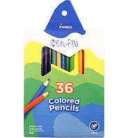 "Набор цветных карандашей 36 цв. MARCO ""Colorite"" 1100-36/954269-0115"