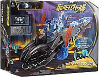 Дикие Скричеры набор (Screechers Wild Fossil Fire Stunt Set) Скричер-трасса +машинка (оригинал США)
