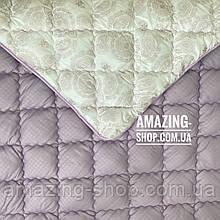 Одеяло на холлофайбере ОДА 200х220 см   Тепла ковдра, наповнювач холлофайбер. Стеганое одеяло ОДА