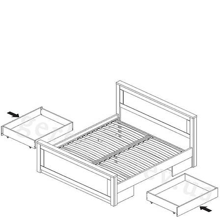 Ліжко 160 (180) Гербор «Антверпен», фото 2