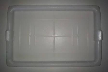 Пластиковая крышка от контейнера Б/У. 500х330х25мм. Крышка Политор, фото 2