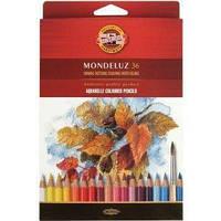 Карандаши акварельные цветные Koh-i-Noor Mondeluz 36 цв