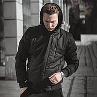 Куртка демисезонная мужская Omar черная S