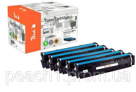 Набор лазерных картриджей 2xbk, c, m, y HP No 205A MultiPack Plus