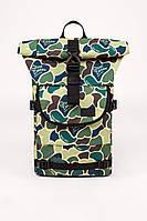 Большой рюкзак ролл в камуфляж b4 duck camo