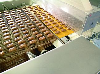 Транспортерна стрічка для виробництва кондитерських виробів