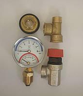 Комплект к автоклаву ( термоманометр + клапан) ниппель в подарок
