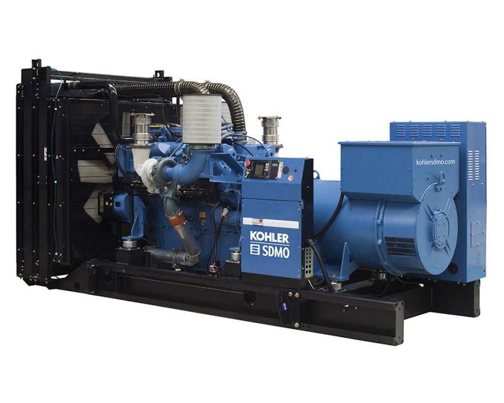 Дизельный генератор SDMO X880C (704 кВт)