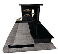 Пам'ятник гранітний подвійний Елітний F13, фото 1