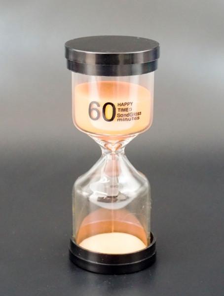 Песочные часы 60 минут оранжевый песок